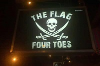 Flag and Four Toes